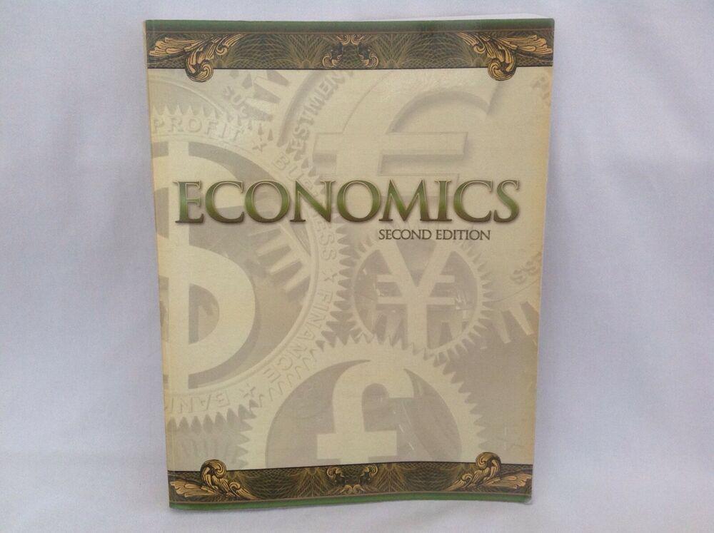 Bob Jones Economics Student Bk 2nd Ed Homeschool School Bju