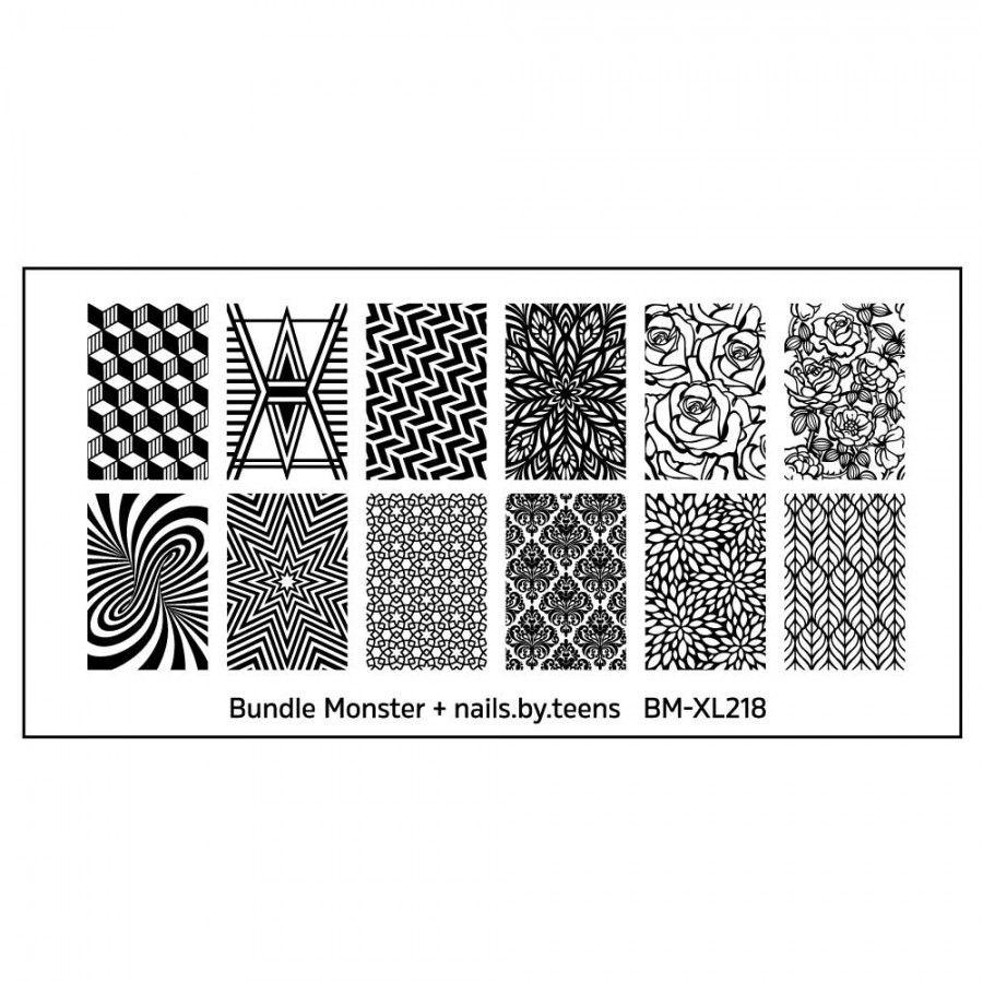 nails.by.teens Blogger Collaboration Nail Art Polish St&ing Plates - Set 4 (BM-XL218)  sc 1 st  Pinterest & Blogger Collaboration: nails.by.teens (BM-XL218) - Single Plate ...