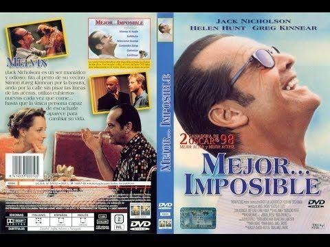 Mejor Imposible Pelicula Completa 1997 Peliculas Completas Peliculas Cine Online