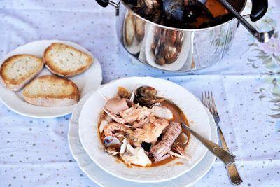 la cucina per principianti ma anche altro zuppa di pesce alla mia