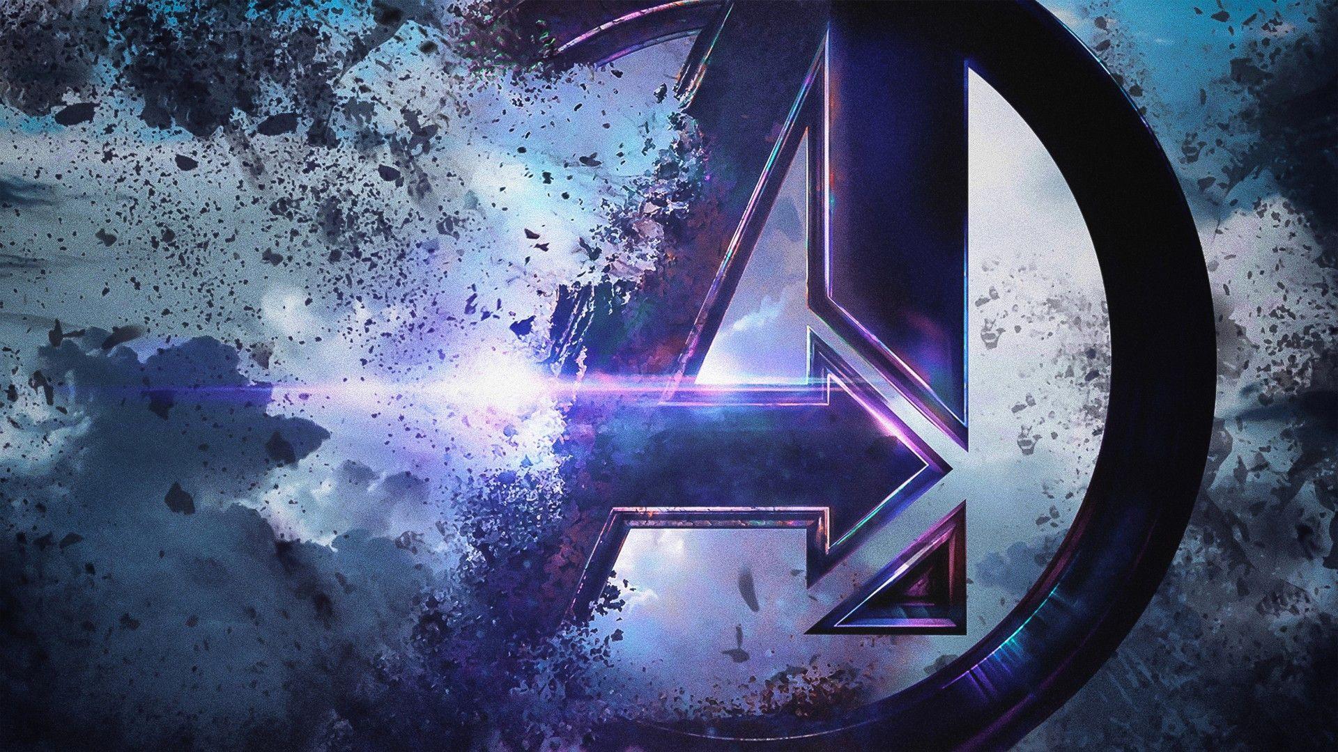 Awesome Avengers Endgame Logo Wallpaper Wallpaper Stream Avengers Wallpaper Marvel Wallpaper Iron Man Hd Wallpaper