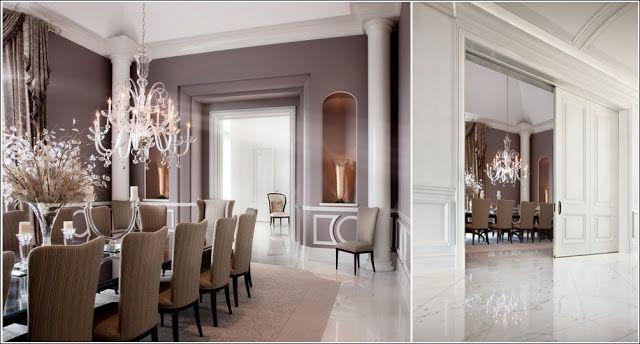 Idées de conception des grandes salle à manger ! ~ Décor de Maison - idee de deco salle a manger