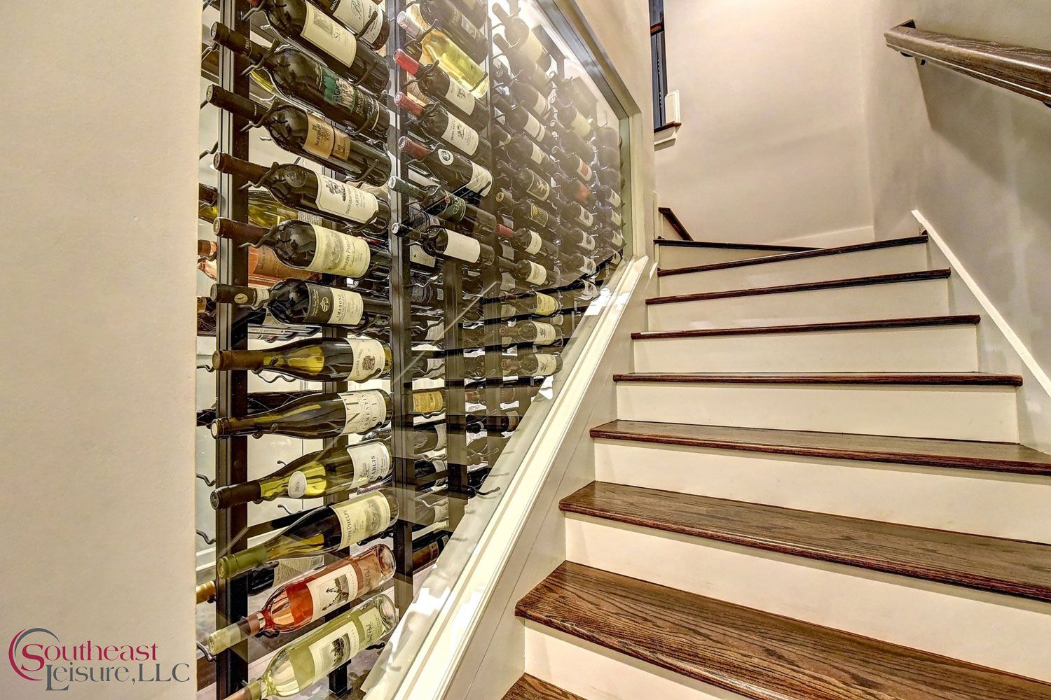 Winedesign In The Purest Form This Gorgeous Glass Wine Cellar