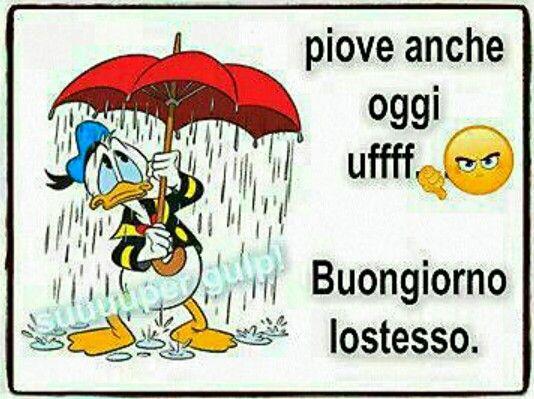 Pioggia | buongiorno | Pinterest Good Morning Happy Monday Quotes