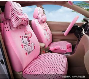New Marie Cat Car Seat Covers Cushion Accessories Set 2 Colours