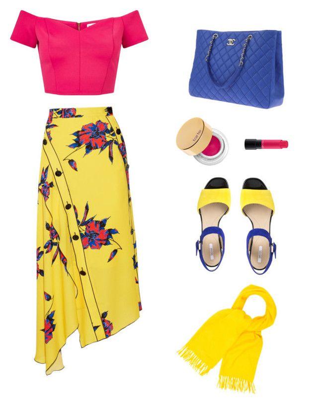 """Summer love"" by sharu-rupa-suresh on Polyvore featuring Proenza Schouler, Miss Selfridge, Chanel, MAC Cosmetics, tarte, Geox and Hermès"