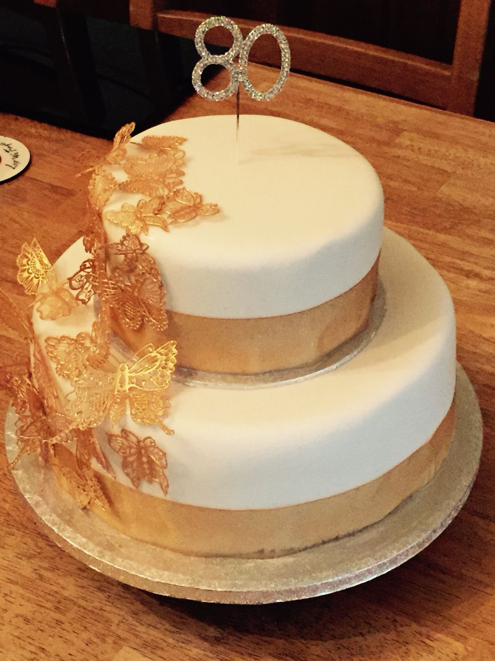 80 Th Birthday Cake …