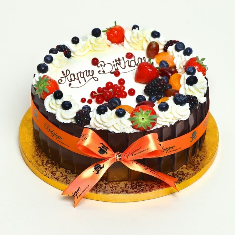 Our classic round celebration cake available in a variety of sizes