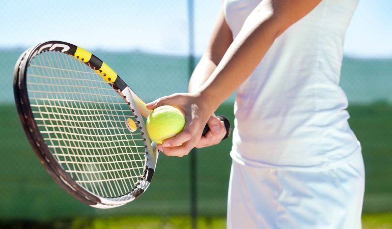 How To Get Better At Tennis By Yourself Tennis Tennis Tips Tennis Racquet