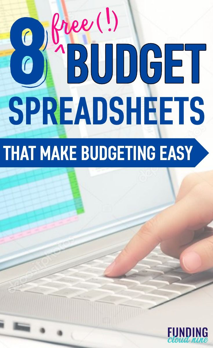 8 free budget spreadsheets that will upgrade your finances