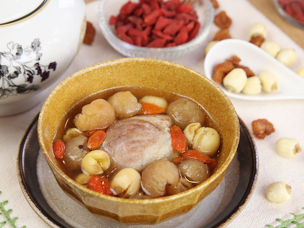 Lotus logan pork soup soup pinterest pork soup pork and food daydaycook is the hottest new culinary website across asia offering step by step instructions and videos on how to cook chinese food recipes forumfinder Choice Image