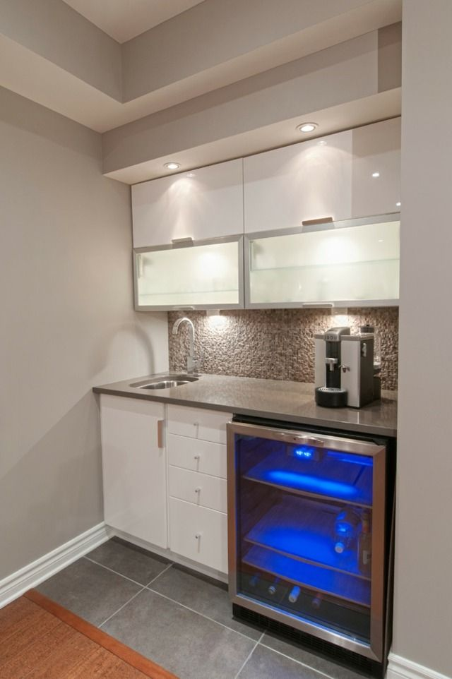 Small Basement Kitchen  Exactly What I Want