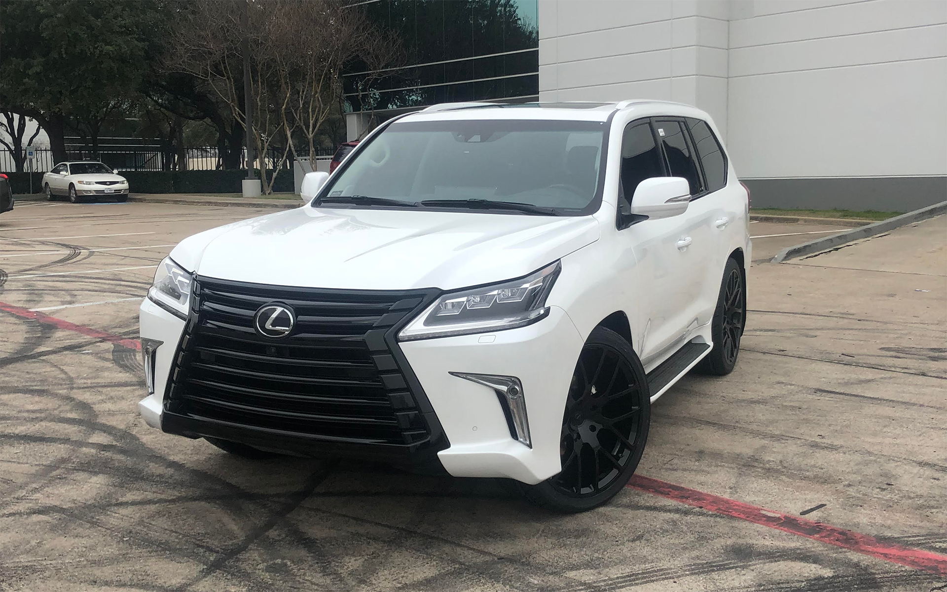 2019 Lexus Lx570 Body Color Trim And Black Out With 24 Black Rhino Kunene With 285 35 24 Toyo S 2019 Cvdauto Lexus Lx570 Lexus Lx570 Lexus Gx 460 Lexus Gx