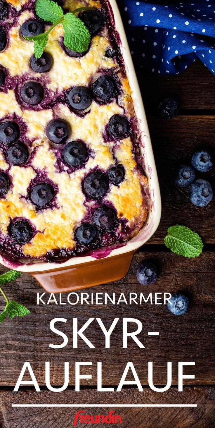 Rezept: Kalorienarmer Skyr-Auflauf | freundin.de