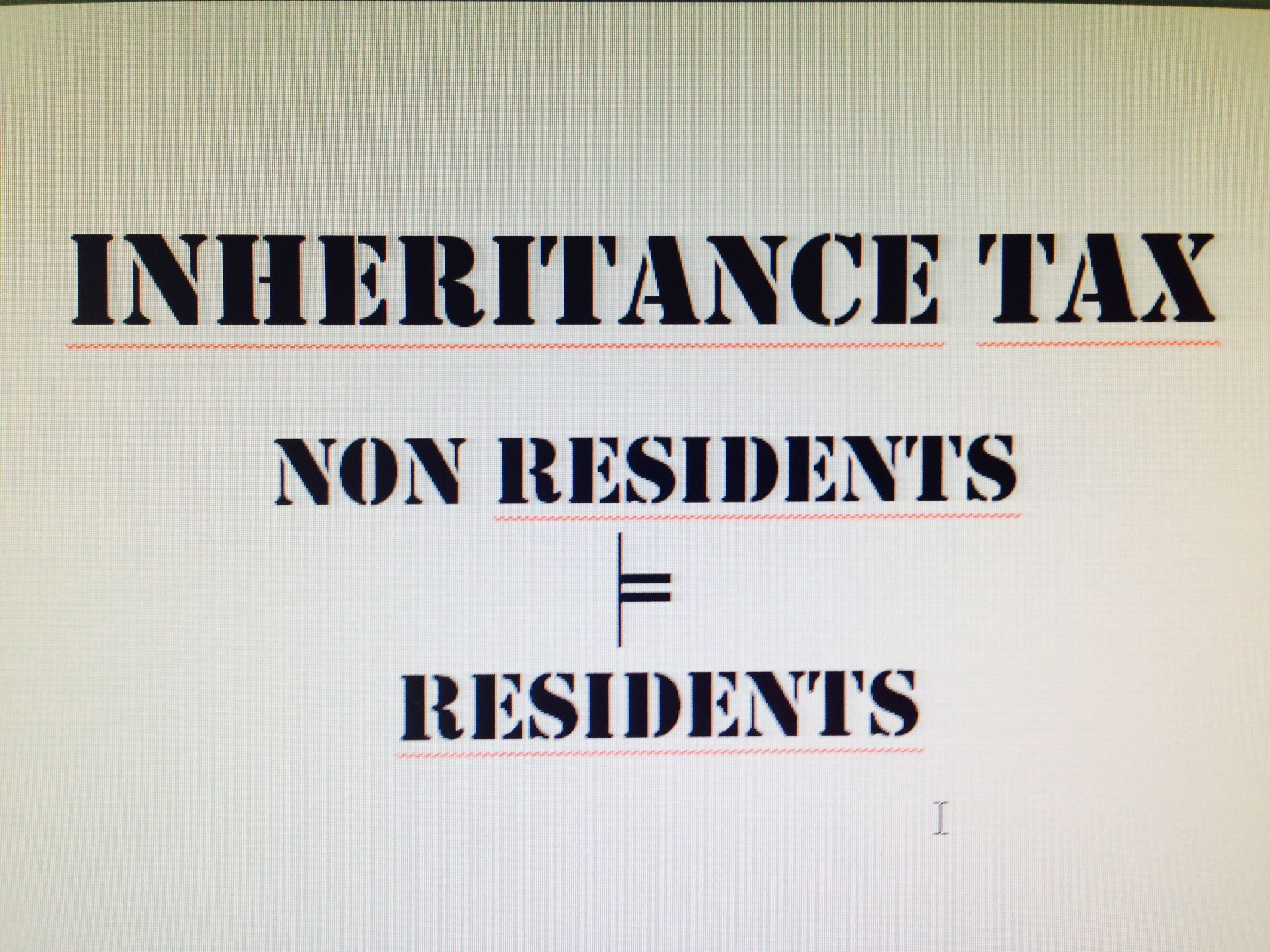 Inheritance tax, gift tax, non residents, property owners, Gran Canaria
