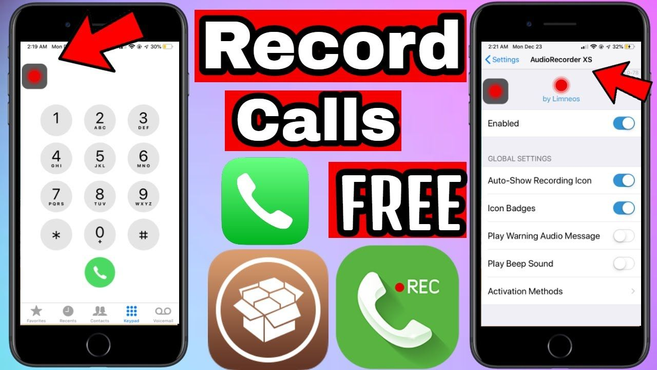 How To Get Record Phone Calls on iPhone Free iOS 12/iOS 13