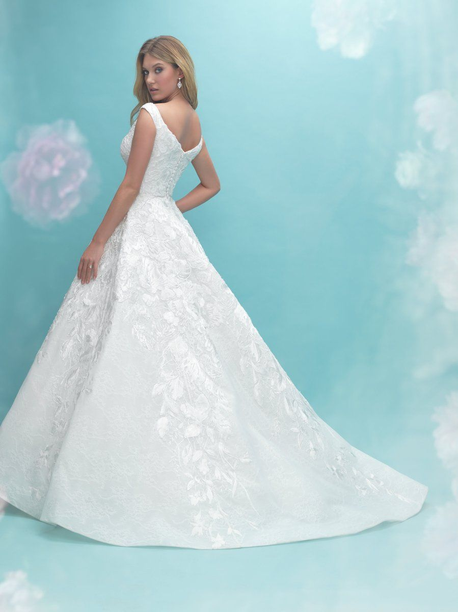 Wedding dress for older bride  Allure   Beautiful wedding dresses  Pinterest  Wedding