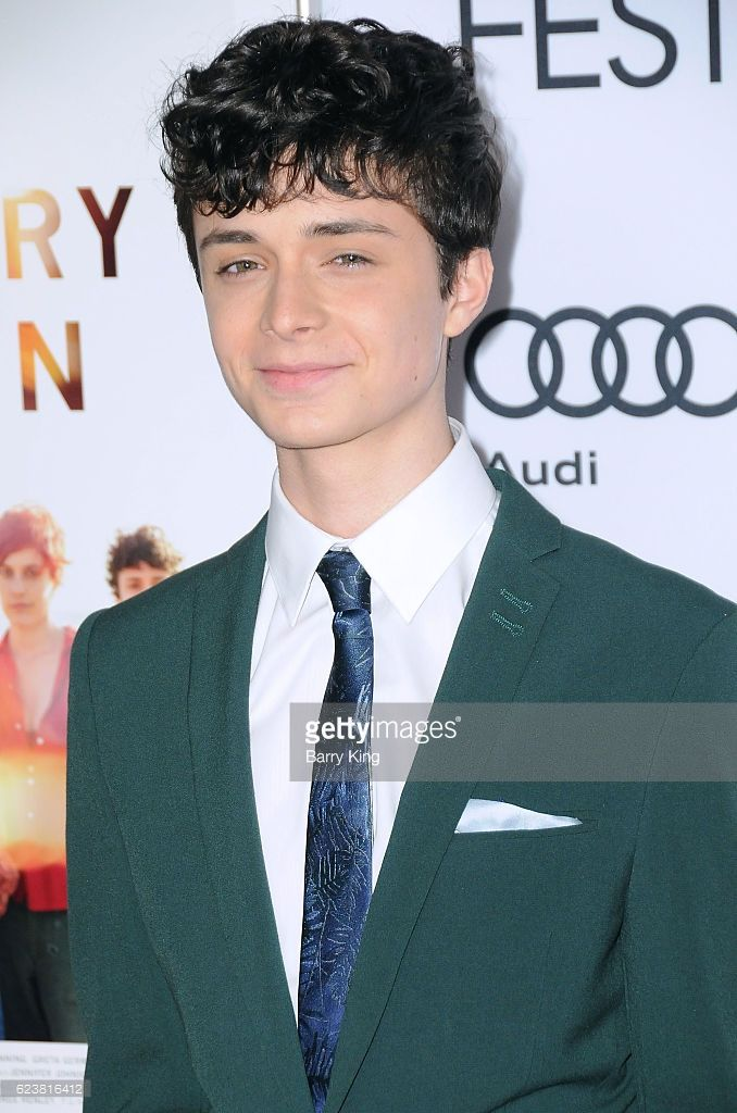 Actor Lucas Jade Zumann attends AFI FEST 2016 Presented By Audi - A Tribute To Annette Bening And Gala Screening Of A24'd '20th Century Women' at TCL Chinese Theatre on November 16, 2016 in Hollywood, California.