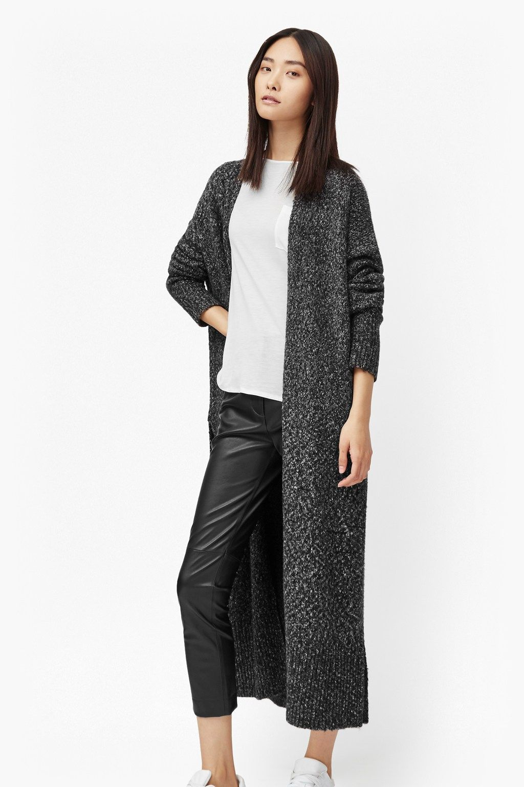 Flecked Flora Long Cardigan | Sale | French Connection Usa ...