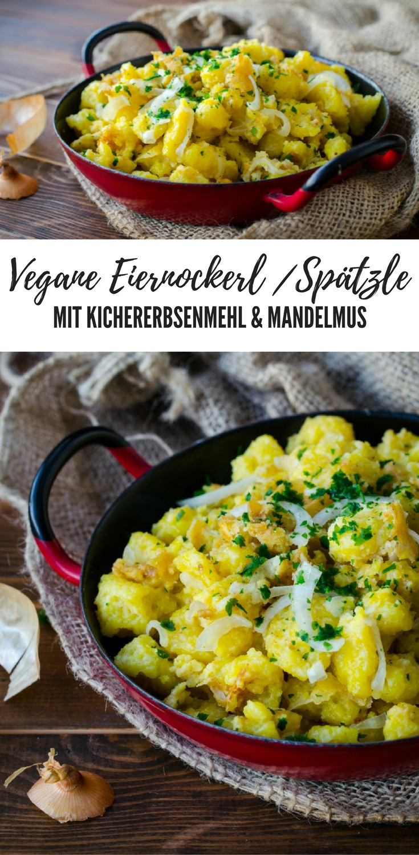Rezept vegane Eiernockerl / Spätzle - Bissen für's Gewissen