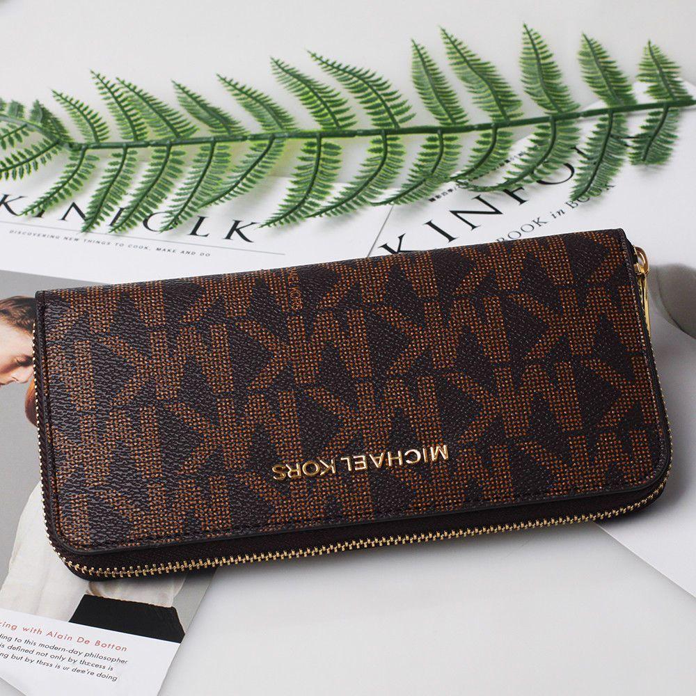 5bb8068d6cf160 Michael Kors Jet Set Zip Around PVC Clutch MK Wallet Brown #fashion  #clothing #shoes #accessories #womensaccessories #wallets (ebay link)  #brownmkwallet