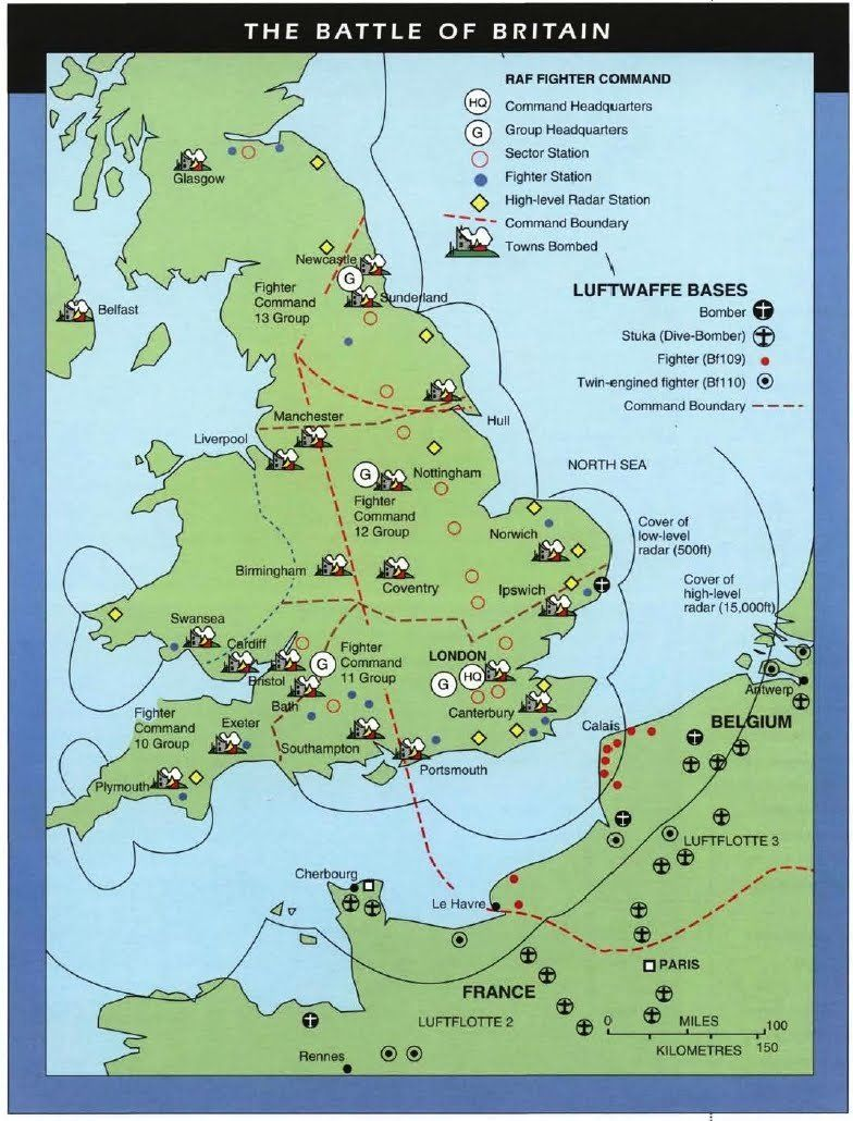 Map Of England During Ww2.Battle Of Britain Map Download With Images Battle Of Britain