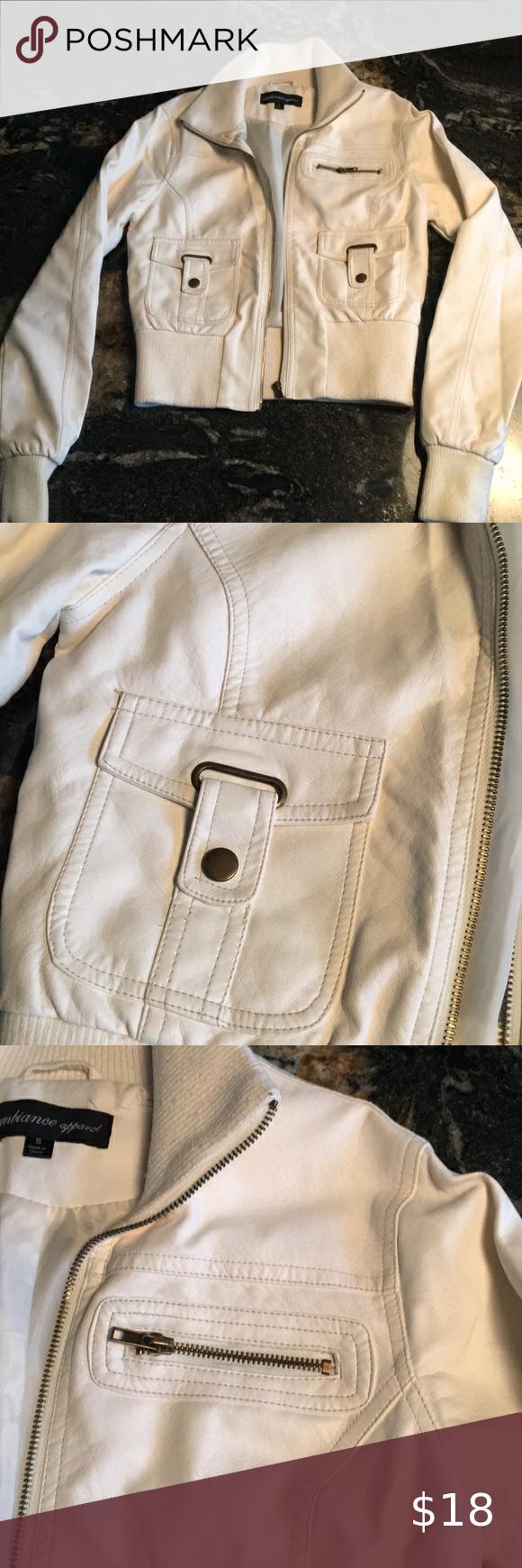 White Faux Leather Jacket In 2020 White Faux Leather Jackets White Leather Jacket Vegan Leather Jacket [ 1740 x 580 Pixel ]