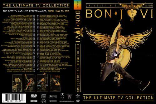 Bon Jovi Greatest Hits The Ultimate Tv Collection 4 Dvd Bon