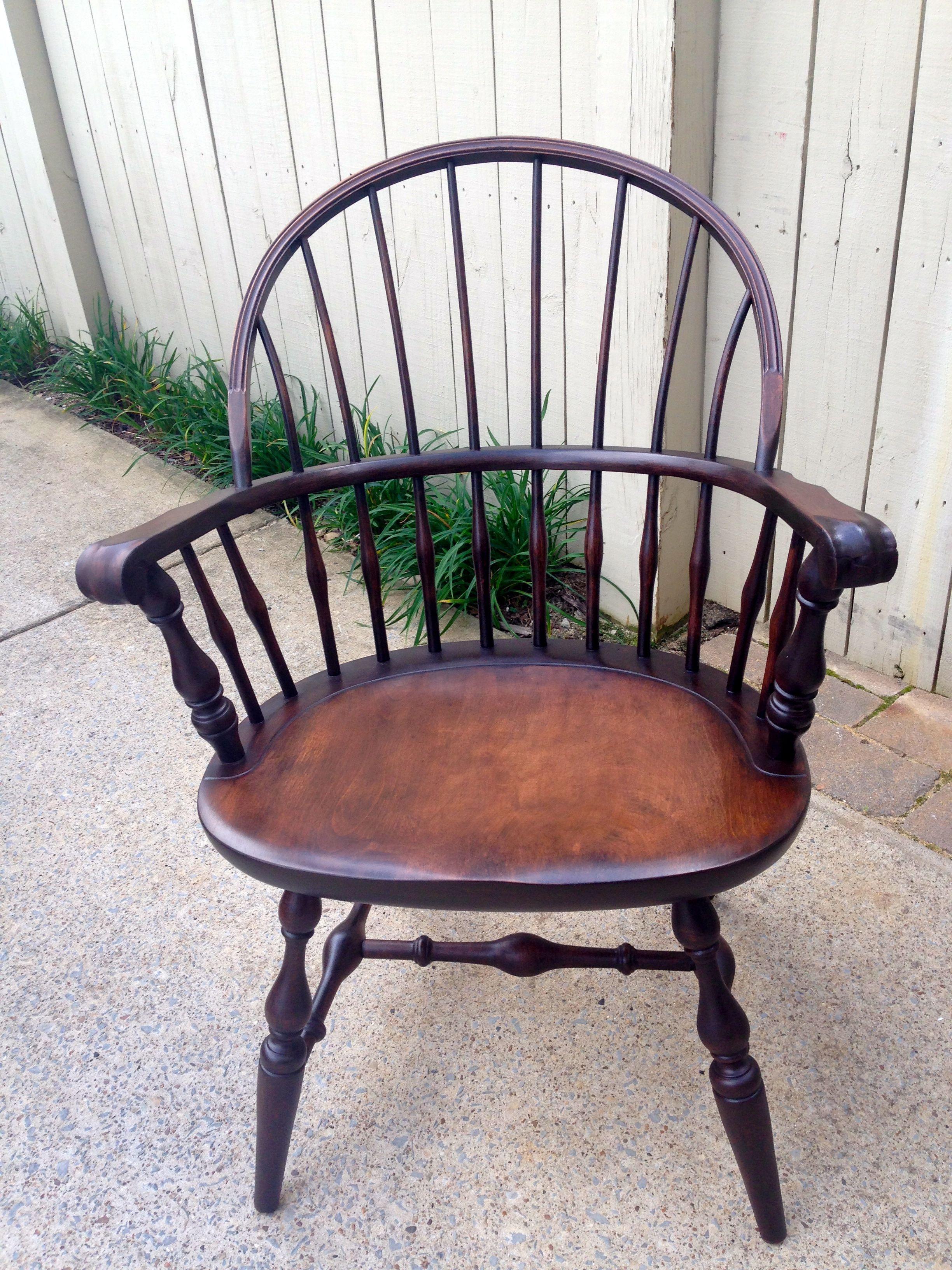 Antique Nichols & Stone Chair, restored by Pops Restorations. Java ...
