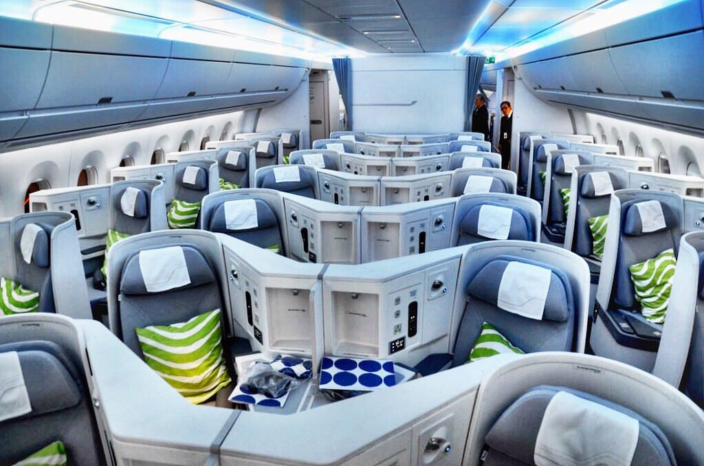 5 Reasons You Will Love Flying Finnair Business Class On The New A350 Business Class Business Class Flight Flying Business Class