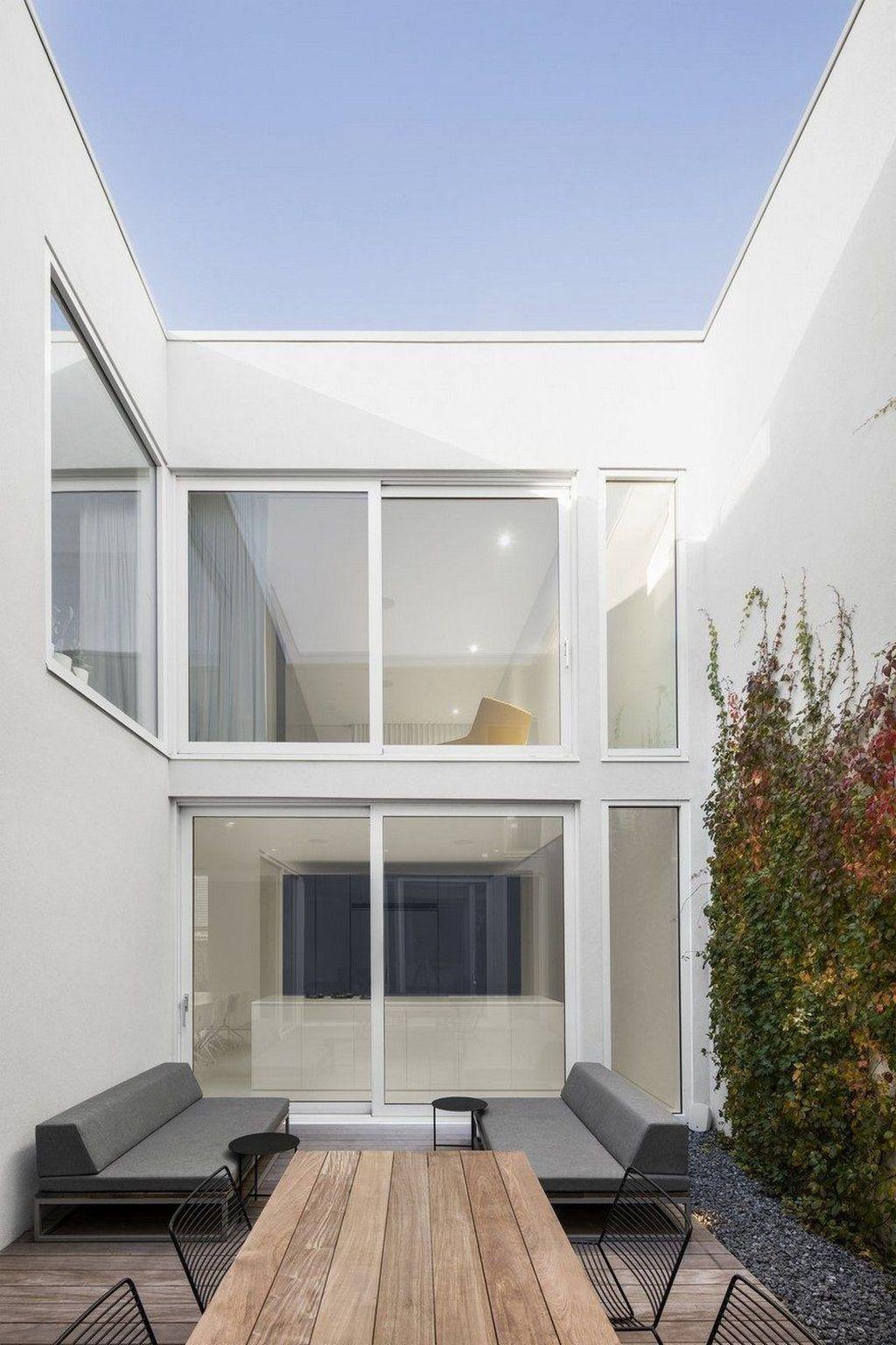 beautiful minimalist terrace and patio decor ideas garden