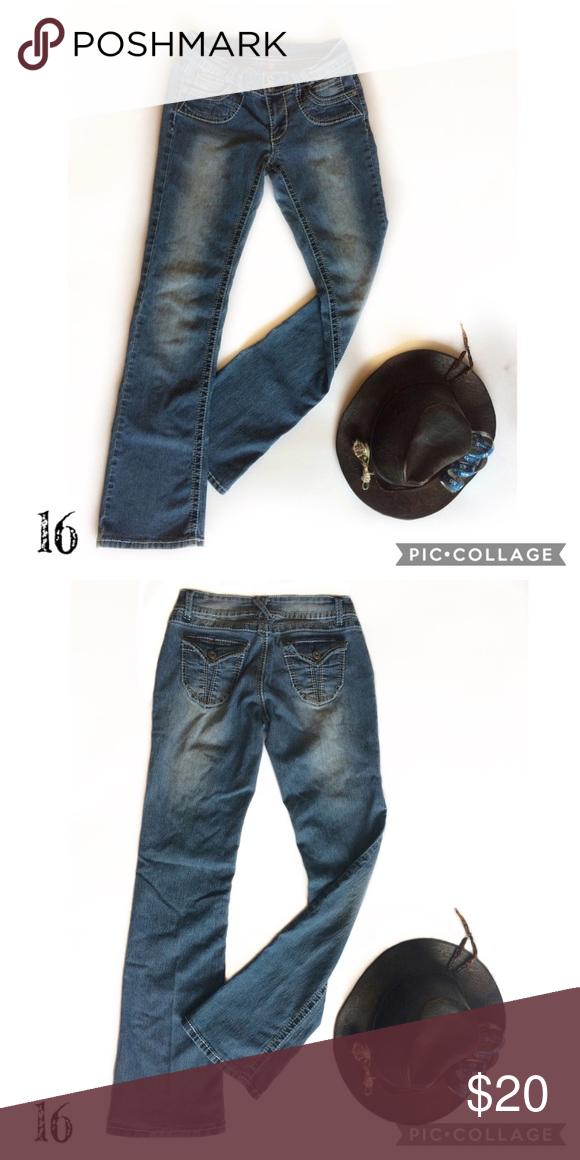 NWT Bongo denim look snap front  skirt size juniors medium