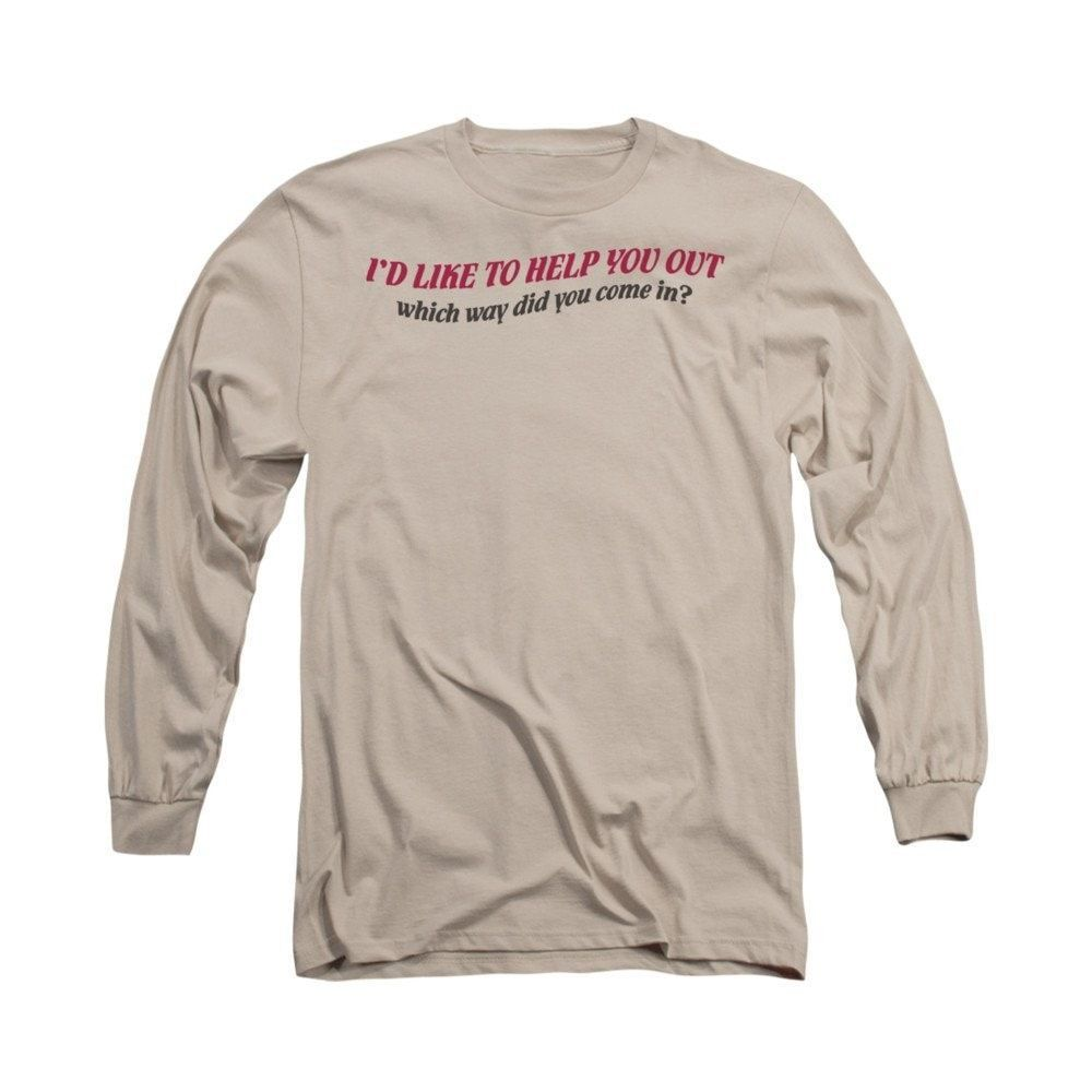 Help You Out Adult Long Sleeve T-Shirt