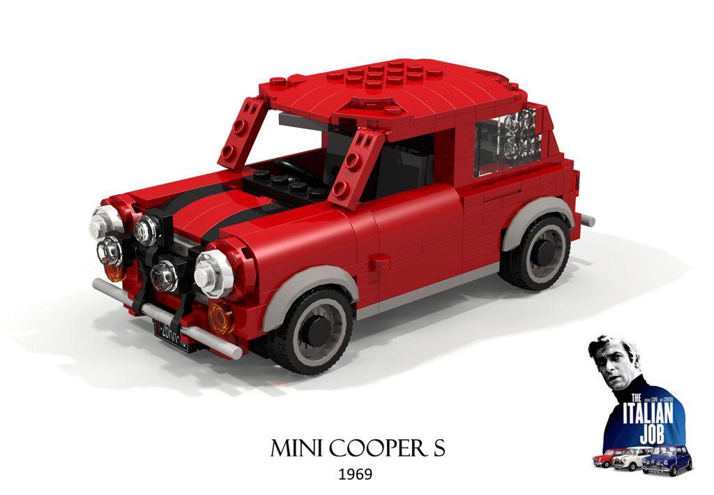 Mini Cooper S 1969 The Italian Job Lego models, Lego