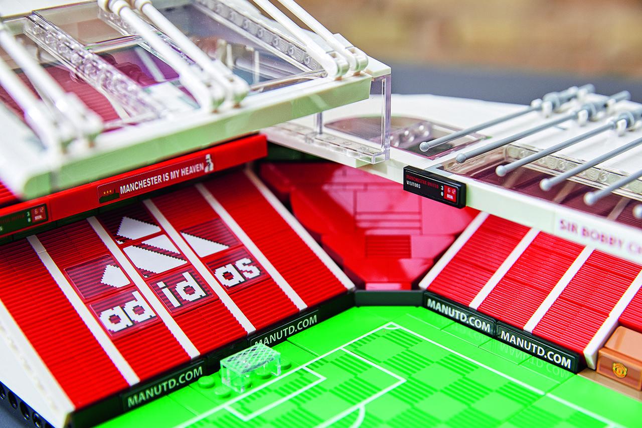 Lego Creator Expert Old Trafford Stadium Set Lego 2020 Old Trafford Manchester United Manchester