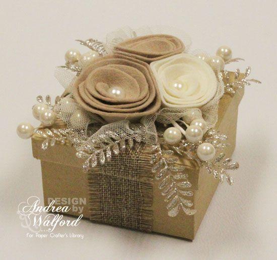 Decorated Gift Box Delectable Que Ce Soit Un Cadeau Insolite Un Cadeau Original Ou Une Idée Inspiration Design