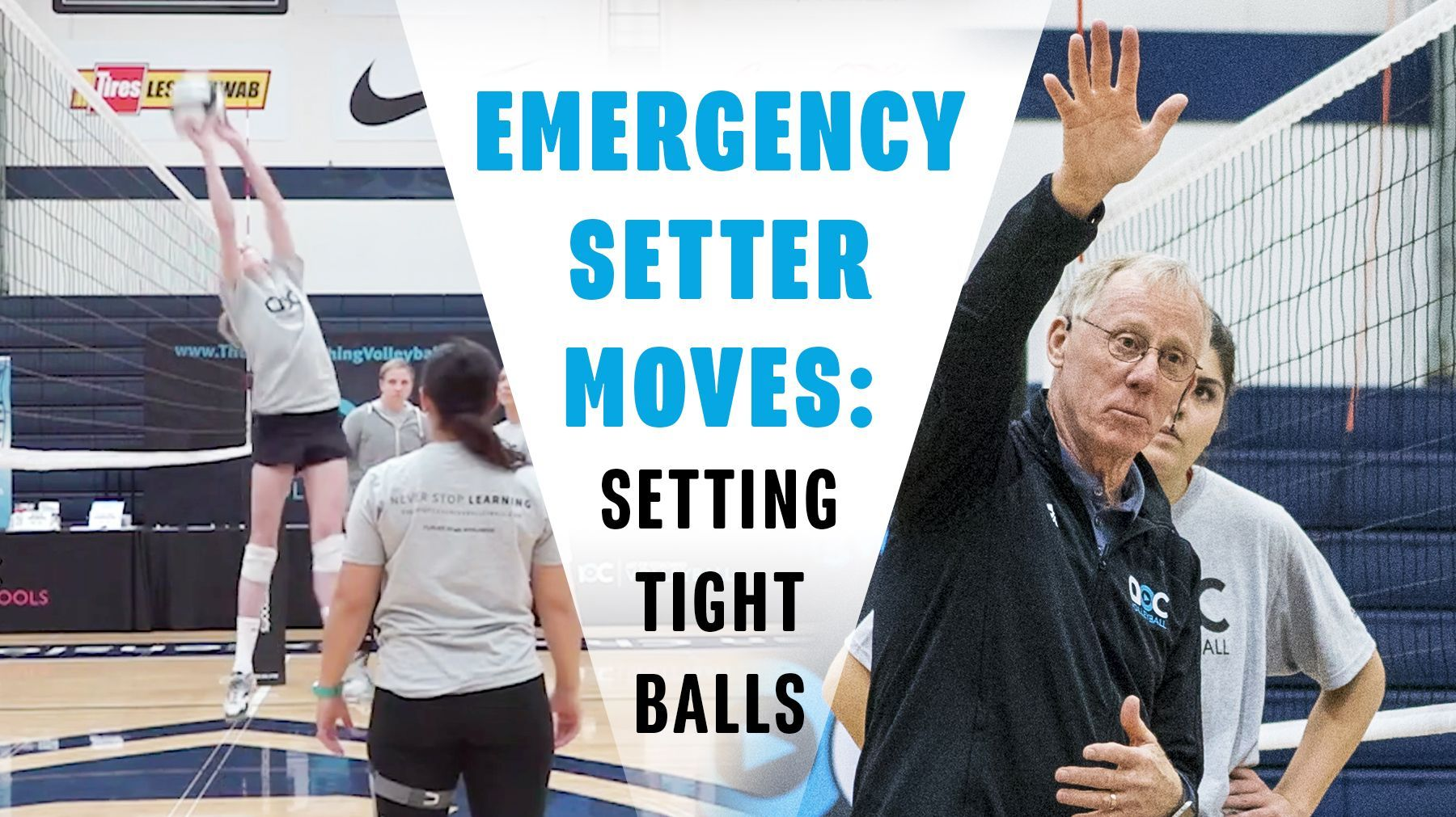 Emergency Setter Moves Setting Tight Balls Coaching Volleyball Volleyball Practice Coaching