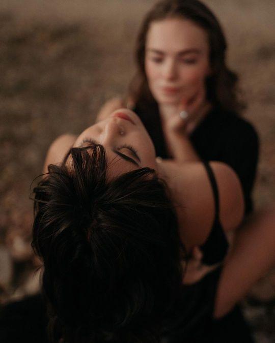 Lesbians Touching Hair Tumblr