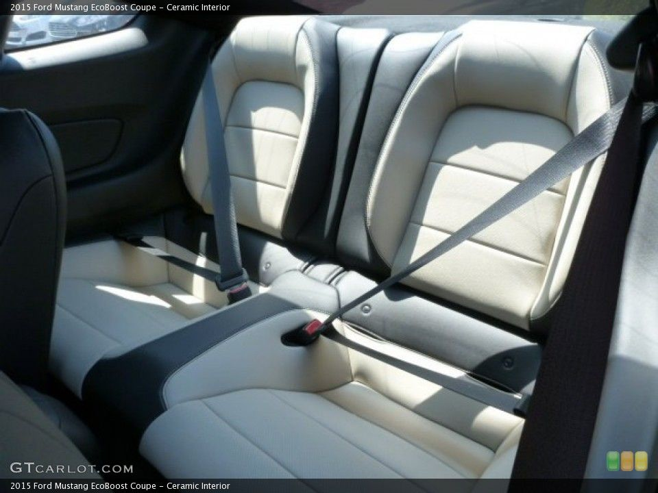 Ceramic Interior Rear Seat For The 2015 Ford Mustang Ecoboost
