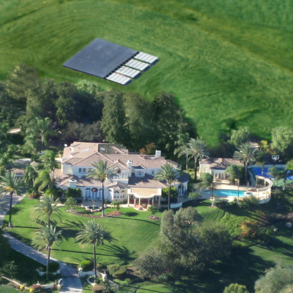 Go green! Solar Electrical Systems created this power saving project in California and saves $2,300 a month!