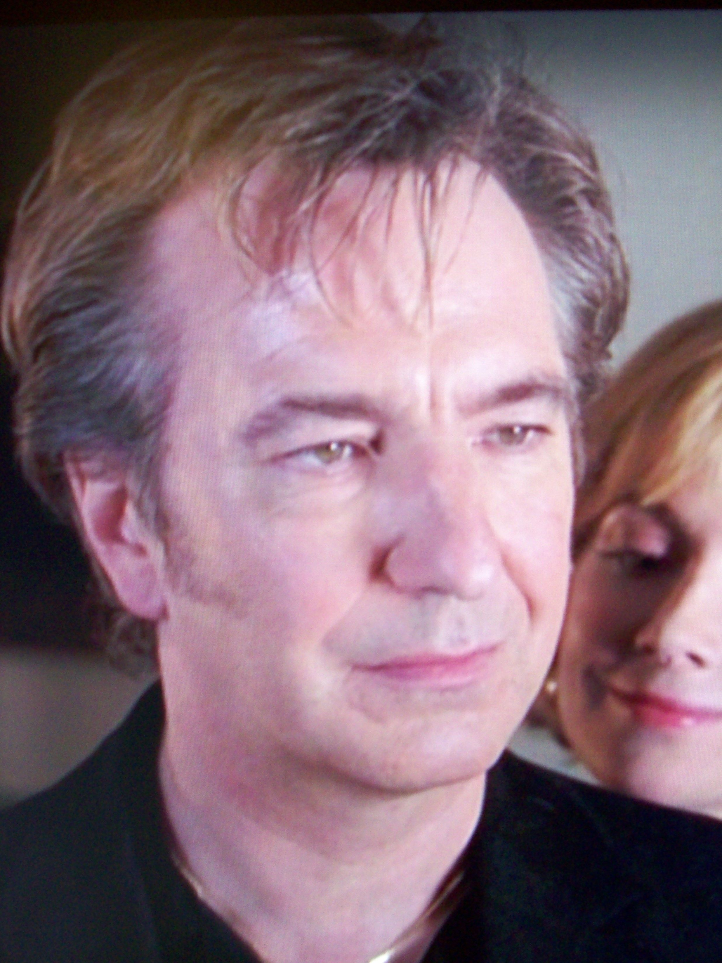 Alan Rickman and Natasha Richardson, \