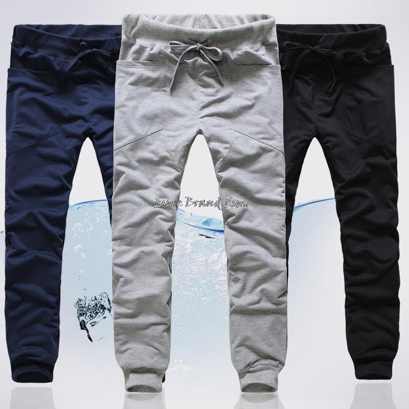 Aliexpress.com  Comprar 2015 moda marca algodón de la gota entrepierna  pantalones de la danza harén deportes de hip hop pantalones cargo sudor  corredores ... b7475659ed5