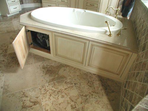 Master Bath Jacuzzi Tub Decor