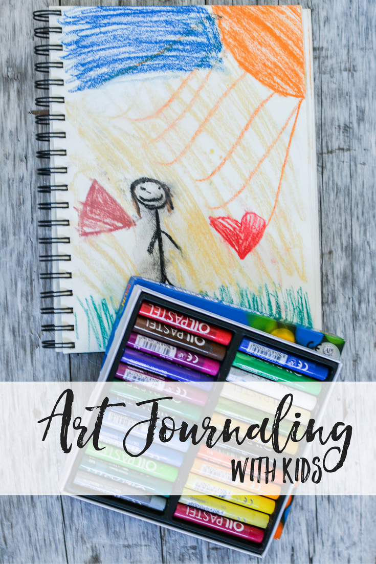 Art Journaling with Kids