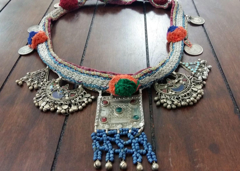 Vintage afghan kuchi pendant necklace ethnic tribal camel necklace vintage afghan kuchi pendant necklace ethnic tribal camel necklace nomad boho gypsy jewelry aloadofball Images