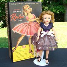 Miss Revlon Doll Kissing Pink C1957 Ideal Mint in Box