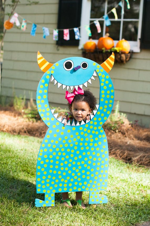 Toothy Monster Toss by TheWhimsyFactory on Etsy, $85.00   Fiesta 1er ...