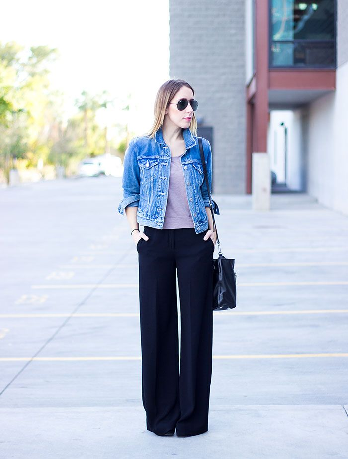 Wide Leg Pants | Blue dresses, For women and Black women