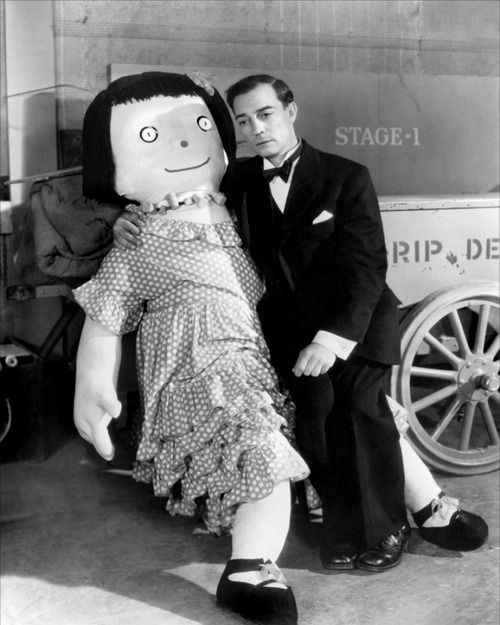 Buster Keaton and his Doll
