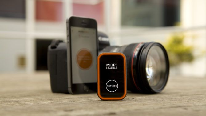 MIOPS Mobile turns your smartphone into an advanced camera remote control